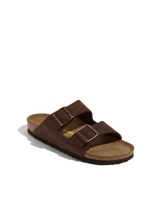 Birkenstock | Brown 'arizona' Sandal | Lyst