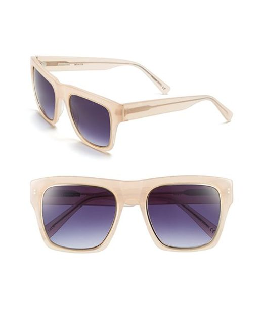 Derek Lam | Blue 'mercer' 54mm Sunglasses | Lyst