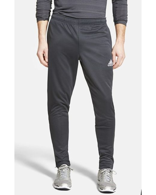 Adidas Originals | Gray 'core 15' Slim Fit Climalite Training Pants for Men | Lyst