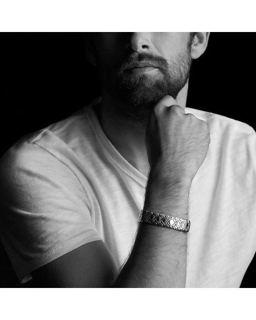 David Yurman | Frontier Cuff Bracelet With Black Diamonds | Lyst