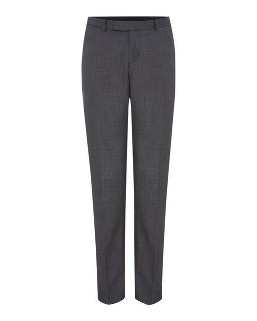 Howick | Gray Darby Birdseye Slim Fit Trouser for Men | Lyst