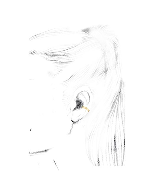 Anita Ko | Metallic Gold Double Width Ear Cuff | Lyst