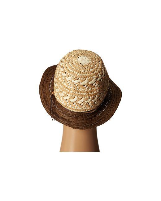 San Diego Hat Company | Brown Ubm4453 4 Inch Brim Sun Hat With Twisted Adjustable Chin Cord | Lyst