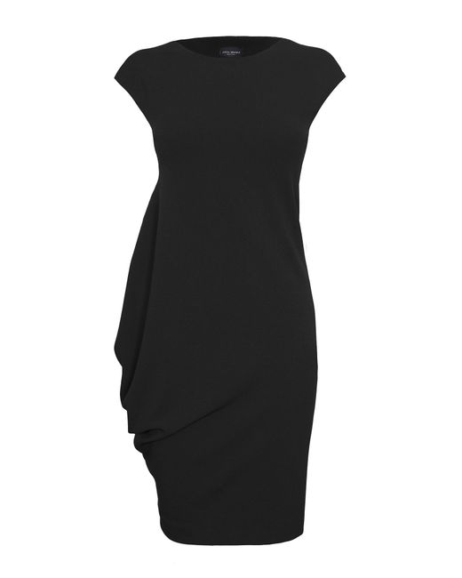 James Lakeland | Black Asymmetric Sleeveless Dress | Lyst