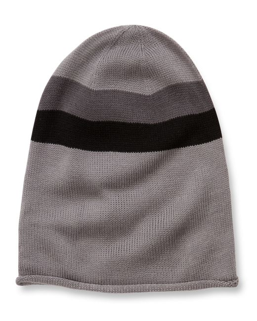 Alternative Apparel | Gray Oversized Knit Beanie | Lyst