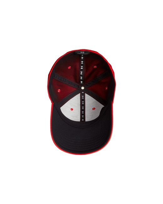Under Armour | Red Ua Blitzing Ii Stretch Fit Cap for Men | Lyst