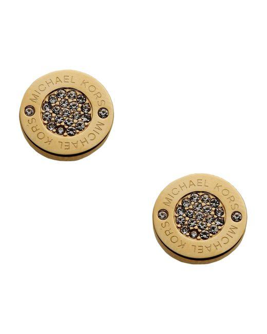 Michael Kors | Metallic Earrings | Lyst