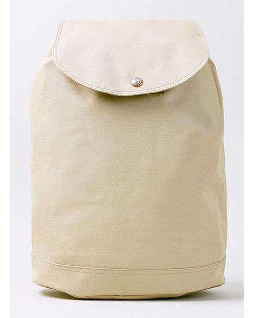 topman herschel cream reid backpack in beige for men cream lyst. Black Bedroom Furniture Sets. Home Design Ideas
