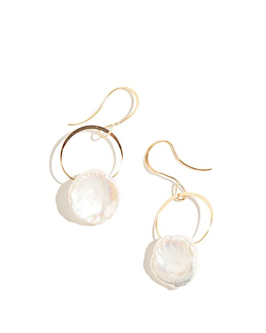 Melissa Joy Manning | Metallic Single Drop Keshi Pearl Earring | Lyst