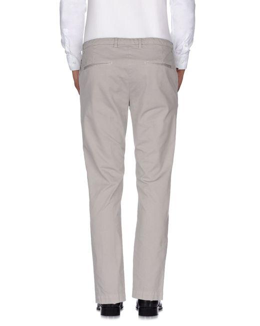 Mauro Grifoni | Gray Casual Trouser for Men | Lyst