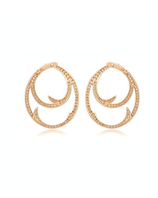 Stephen Webster | Metallic Thorn Double Hoop Earrings | Lyst