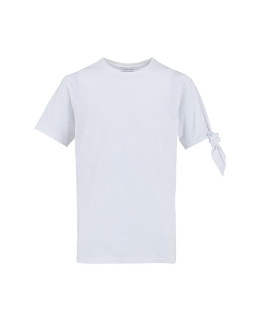 J.W.Anderson | White Single Knot T-shirt | Lyst