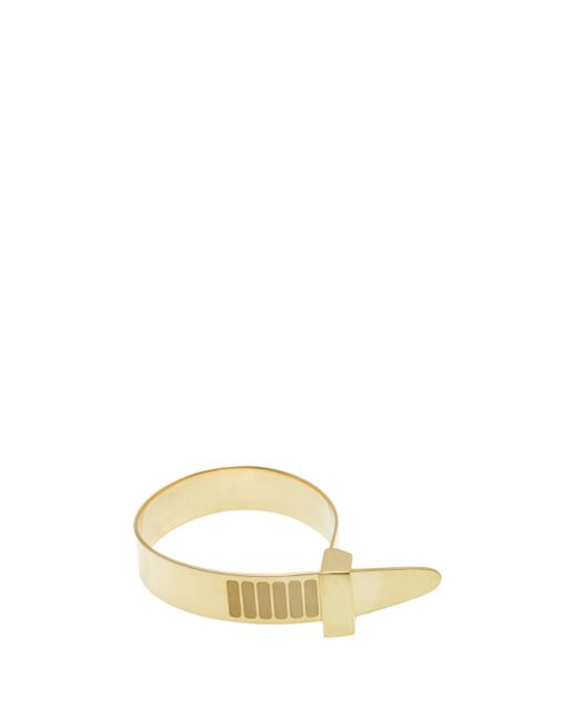 Cast Of Vices | Metallic Zip Tie Bracelet | Lyst