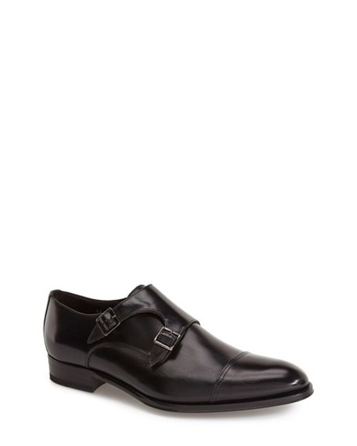 To Boot | Black 'medford' Double Monk Strap Shoe for Men | Lyst