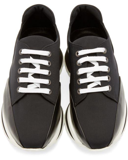 Pierre Hardy | Black Neoprene Turbo Sneakers | Lyst