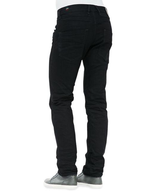 DIESEL | Blue Belther Black Dna Mutation Jeans for Men | Lyst