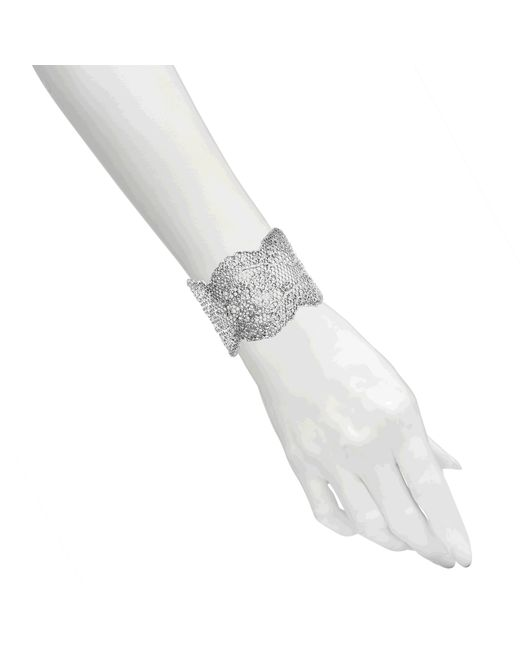 Aurelie Bidermann   Metallic Lace Bracelet   Lyst