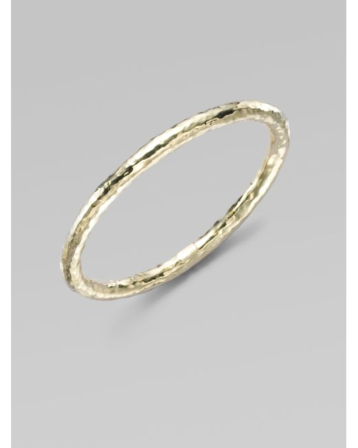 Ippolita | Metallic Glamazon 18k Yellow Gold #3 Bangle Bracelet | Lyst