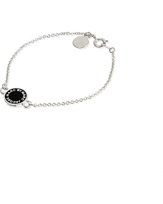 Marc Jacobs | Metallic Enamel Disc Bracelet | Lyst