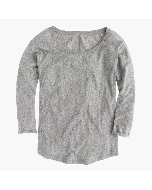 J.Crew | Gray Vintage Cotton Dolman T-shirt | Lyst