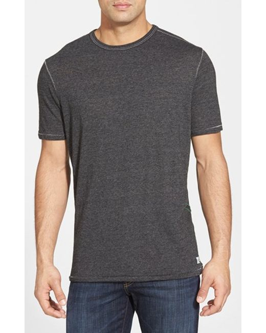 Tommy Bahama | Gray 'Sunday'S Best' Island Modern Fit Crewneck T-Shirt for Men | Lyst