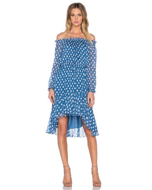 Diane von Furstenberg   Blue Camila Dress   Lyst