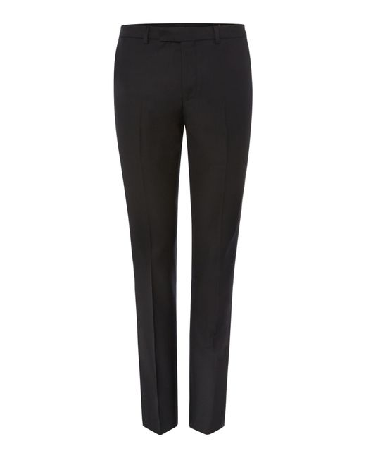 Label Lab | Black Kinsey Plain Extra Slim Suit Trousers for Men | Lyst