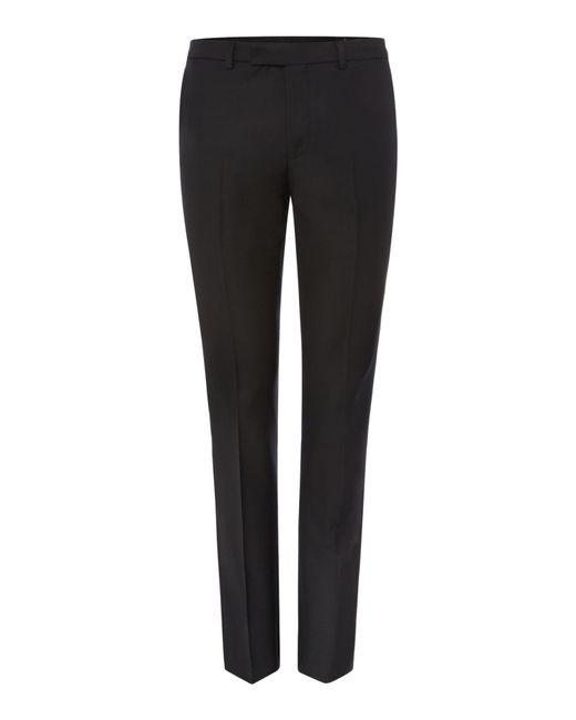 Label Lab | Black Kinsey Plain Extra Slim Suit Trousers for Men | Lyst