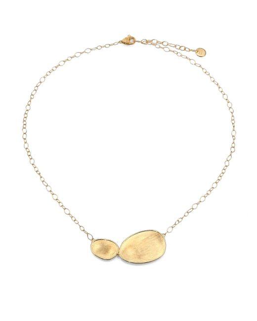 Marco Bicego | Metallic Lunaria 18k Yellow Gold Pendant Necklace | Lyst