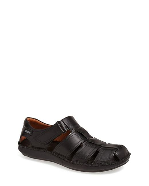 Pikolinos | Black 'tarifa' Sandal for Men | Lyst