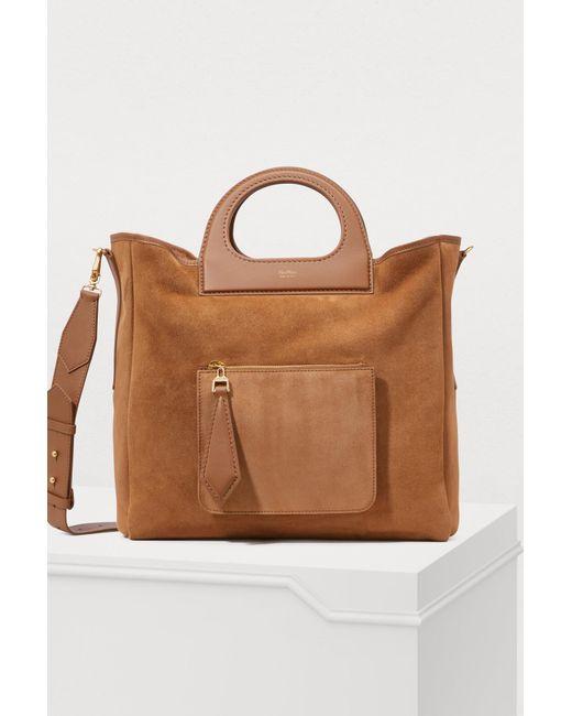5786d3145e03 Max Mara - Brown Grace Reversible Bag - Lyst ...