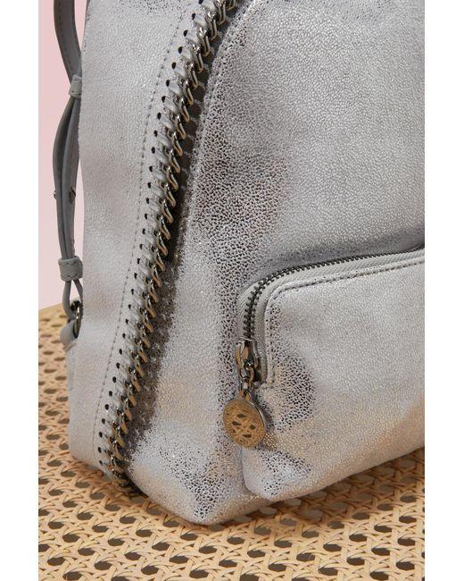 Stella McCartney | Multicolor Falabella Shiny Mini Backpack | Lyst