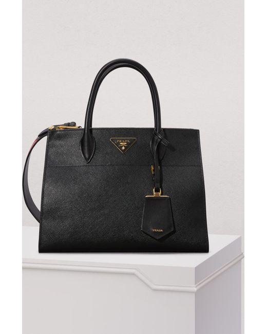 edda9728f27f Prada - Black Paradigme Big Cross-body Bag - Lyst ...