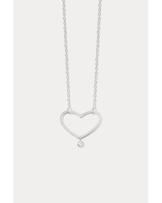 Vanrycke - Metallic Angie S Diamond Necklace - Lyst