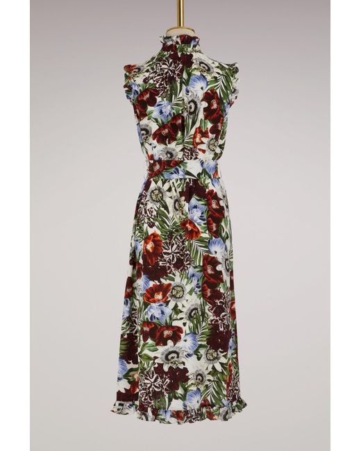 Best Seller Sebla short sleeves dress Erdem Cheap New Perfect Low Cost Cheap Online Cheap Sale Huge Surprise Z6p6R