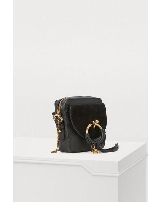 5f76c370 See By Chloé Joan Crossbody Bag in Black - Lyst