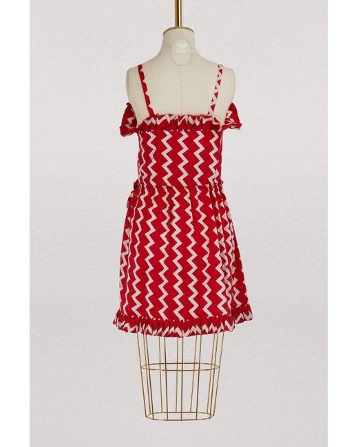 Amanda silk dress Stella McCartney Collections Low Price Fee Shipping For Sale HMrv99tBU