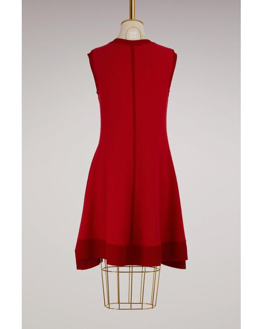 Maison Rabih Kayrouz | Red Wool Short Dress | Lyst