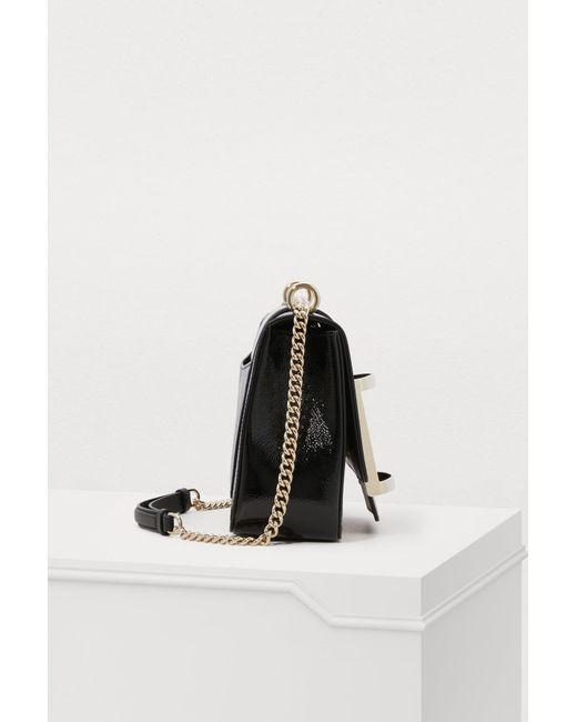 21a8ecadb441 ... Roger Vivier - Black Très Vivier Small Shoulder Bag - Lyst ...