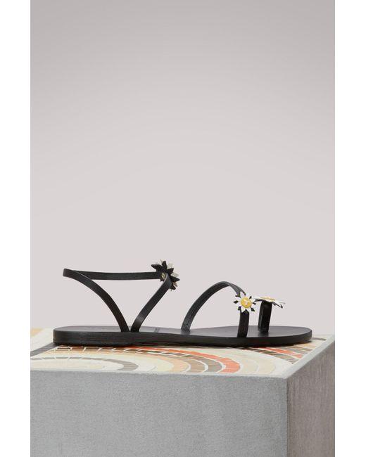 Ancient Greek Sandals - Black Sheila Sandals - Lyst