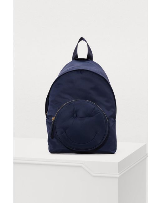 Wholesale Discount Big Sale Navy Chubby Wink Backpack Anya Hindmarch Fast Delivery Sale Online Sale The Cheapest Buy Cheap Pick A Best Fie5qIodtW