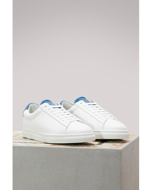 Really For Sale Buy Cheap 2018 New Zespà Nappa sneakers with metallic detail Buy Cheap Official Outlet Good Selling YBiVgUU6n