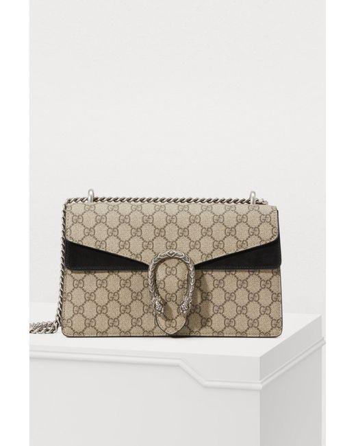 a623fd569 Gucci - Multicolor Dionysus Gm Shoulder Bag - Lyst ...