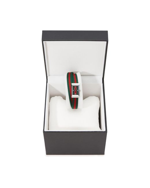 Gucci Multicolor G-frame Watch