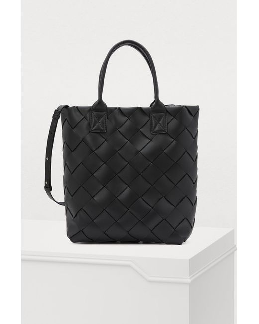 c7f788c6c3 Bottega Veneta - Black Tote Bag - Lyst ...
