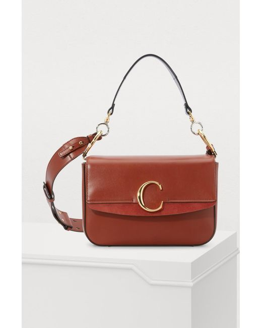 71fbe7a4a6 Sac porté épaule Chloe C Chloé en coloris Marron - Lyst