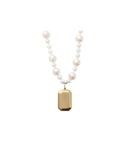Carolina Bucci   White Looking Glass Fresh Water Pearl Necklace   Lyst