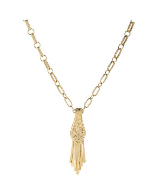 Aurelie Bidermann | Metallic Pendant Necklace | Lyst
