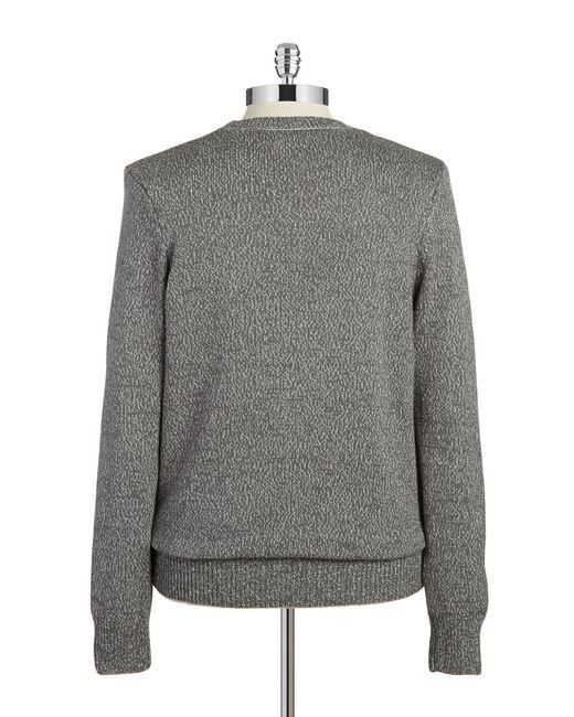 William Rast | Gray Crewneck Sweater for Men | Lyst