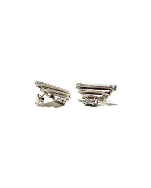Bing Bang | Metallic Sacred Geometry Pyramid Earrings | Lyst
